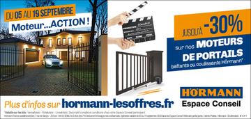 30% de réduction sur les moteurs de portails Hormann Decomat Bergerac